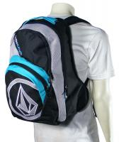 Volcom Purma Backpack - Black / Turquoise