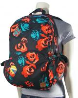 Volcom Going Study Backpack - Black Rose