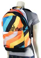 Volcom Going Back Backpack - White Combo