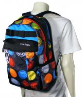 Volcom Propel Laptop Backpack - Dot Mess