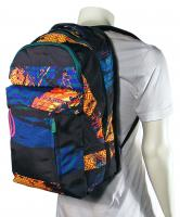 Volcom Prohibit Backpack - Black Stripe