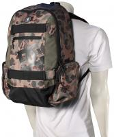 DC The Breed Backpack - Duck Camo