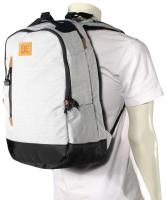 DC Trekker Backpack - Light Heather Grey