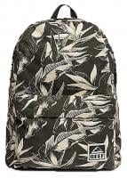 Reef Moving On Canvas Backpack - Black Paradise