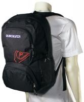 Quiksilver Strange Days Backpack - Black / Red