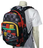 Quiksilver Schoolie Backpack - DNA Rasta