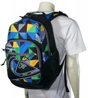 Quiksilver Schoolie Backpack - Tanked Multi