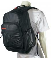 Quiksilver Schoolie Backpack - Black / Red