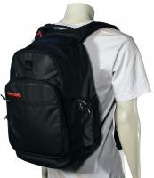 Quiksilver Schoolie Laptop Backpack - Black / Red