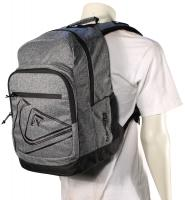 Quiksilver Schoolie Backpack - Black Heather