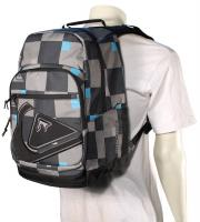 Quiksilver Schoolie Backpack - Big Checks / Gunsmoke