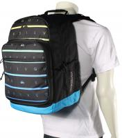 Quiksilver Schoolie Backpack - Stacks on Black
