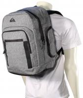Quiksilver Schoolie Backpack - Light Grey Heather