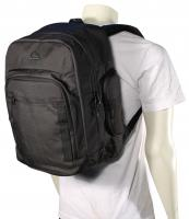 Quiksilver Schoolie Backpack - Black / Black