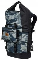 Quiksilver Sea Stash Plus 35L Roll Top Wet/Dry Backpack - Camo