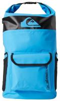 Quiksilver Sea Stash 20L Roll Top Wet/Dry Backpack - Fjord Blue