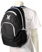 Hurley One and Only Backpack - Black / White