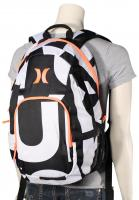 Hurley One and Only Backpack - Black / Letter Print