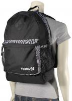 Hurley Mater Women's Backpack - Black / White / White