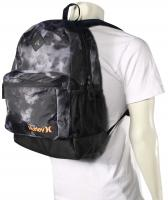 Hurley Mater Backpack - Black / Black / Total Orange