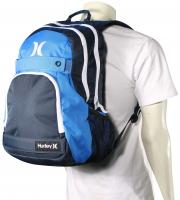 Hurley Honor Roll Solid Blocked Backpack - Midnight Teal / Photo Blue