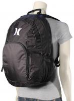 Hurley One and Only Women's Backpack - Black / White