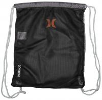 Hurley Honor Roll Cinch Sack - Dark Grey / Total Orange