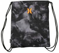 Hurley Honor Roll Cinch Sack - Black / Total Orange