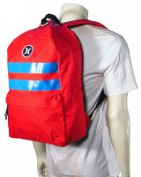Hurley Block Party Backpack - Red
