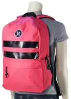 Hurley Block Party Backpack - Fuschia Pink