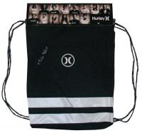 Hurley Block Party Gym Sack - Black