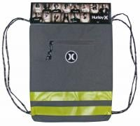Hurley Block Party Gym Sack - Charcoal Grey