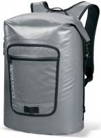 DaKine Cyclone Roll Top Backpack - Charcoal / Silver