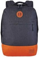 Nixon Beacons Backpack - Dark Grey / Orange