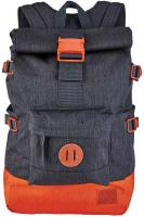 Nixon Swamis Backpack - Dark Grey / Orange