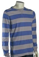 Quiksilver Snit Stripe Sweater - Grey / Blue