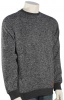 Quiksilver Keller Crew Sweater - Dark Grey Heather