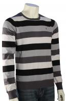 Hurley One and Only Stripe Sweater - Black
