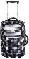 Roxy Roll Up Luggage - Anthracite Opticity