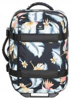 Roxy Wheelie 30L Luggage - Anthracite Tropical Love