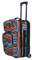 Electric Small Block Luggage - Digital Stripe