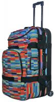 Electric Big Block Luggage - Digital Stripe