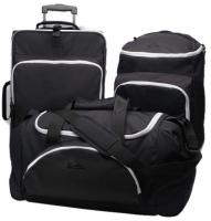 Quiksilver 3 In 1 Luggage - Burnout Silver