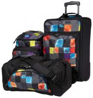 Quiksilver 3 In 1 Luggage - Plasma Ash Grey