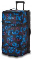 DaKine Womens Split Roller 100L Luggage - Blue Flowers