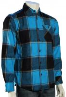 Element Spokane LS Button Down - Cyan