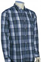 Volcom X Factor Plaid LS Button Down Shirt - White