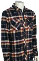 DC Shadow LS Button Down Shirt - DC Navy