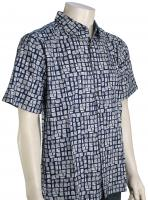 Quiksilver Waterman Poseidon's Will Button Down Shirt - Estate Blue