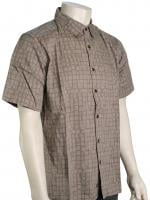 Quiksilver Waterman Poseidon's Will Button Down Shirt - Steeple Grey